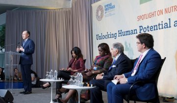 Investing in nutrition to unlock human capital and economic prosperity
