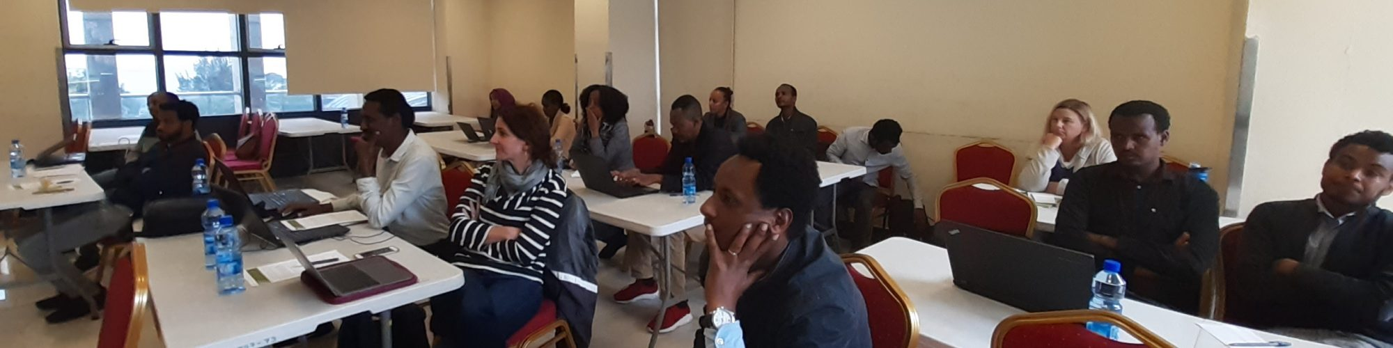 NIPN Ethiopia workshops on communicating research results